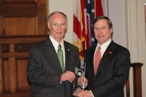 Governor Robert Bentley and McWane President, Ruffner Page
