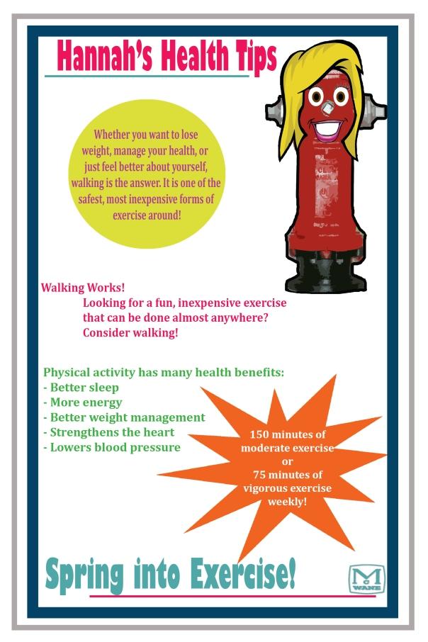 Hannah Health Tips - Exercise 1