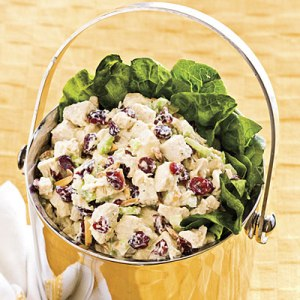 Cranberry and Chicken Salad