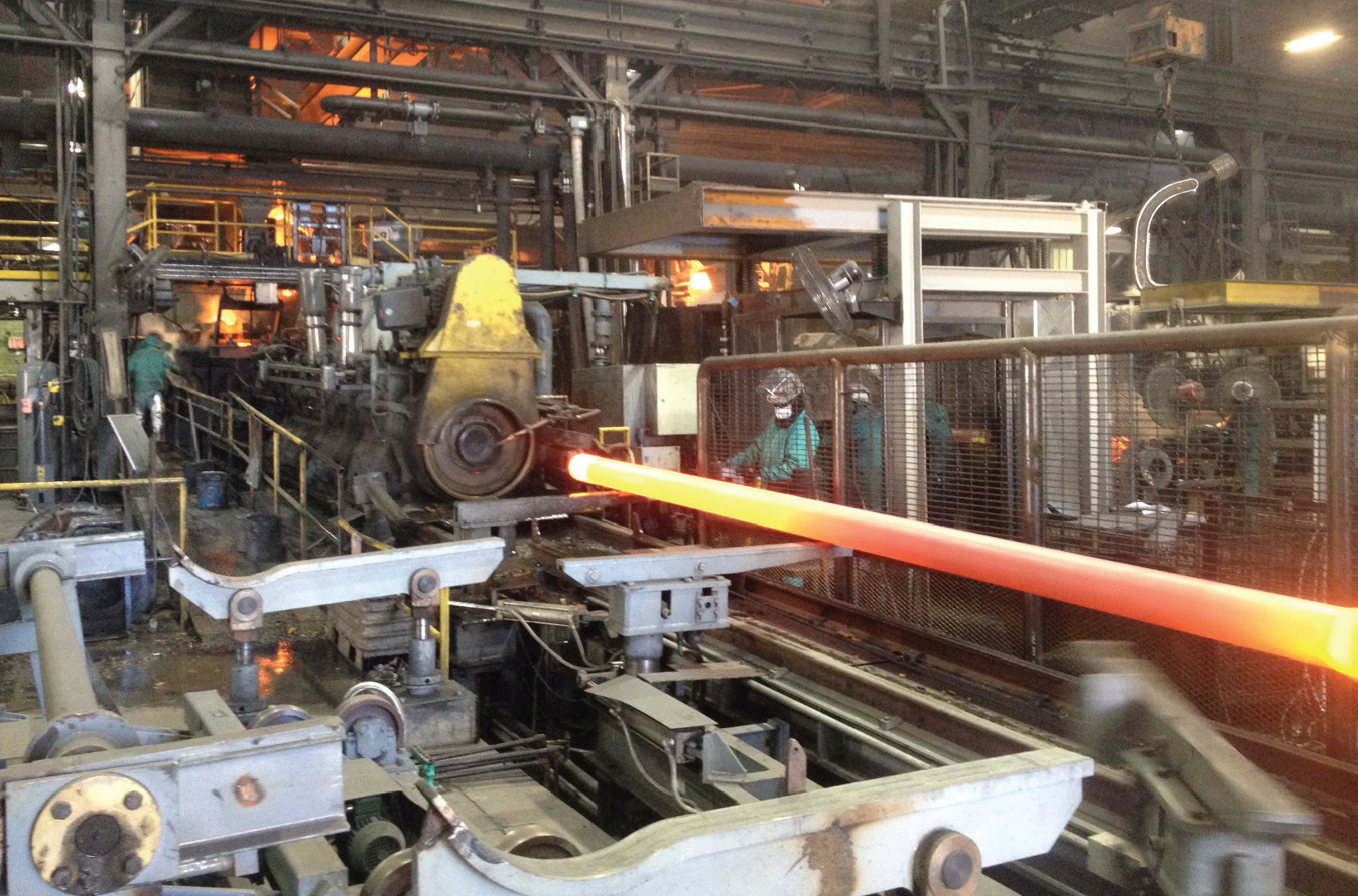 Pac States New Pipe Casting Machine & Pacific States: Cleaner and Even More Efficient | McWane Inc.