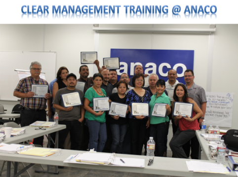 Anaco Clear Management Training 2