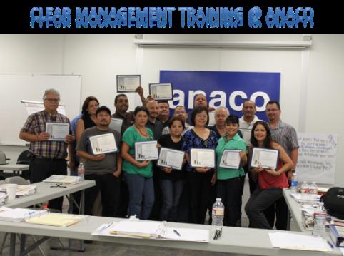 Anaco Clear Management Training 2