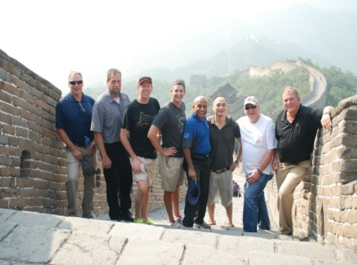 McWane Team in China