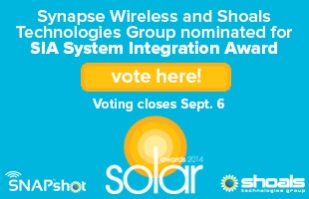 Synapse Solar Industry Award Graphic