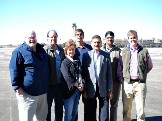 L to R: Corporate Environmental Team - Jeff Weatherly, Dennis Zurakowski, Terri Evans, Larry Bowers, Jeet Radia, Hari Krishna, and Ward Pate