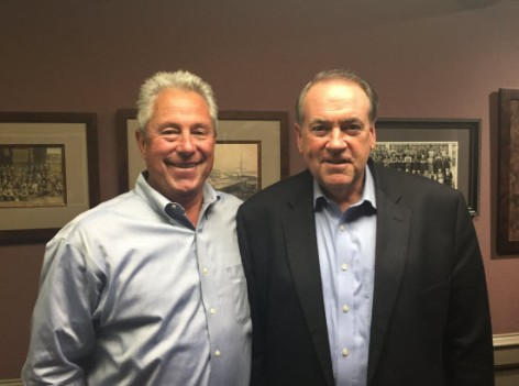 Governor Mike Huckabee Visits Clow Valve