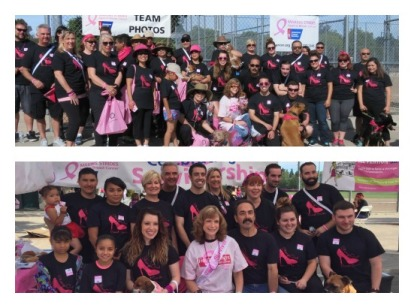 AB&I Breast Cancer Walk Team