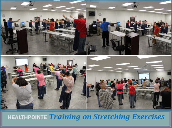 Anaco Stretching Exercises Training