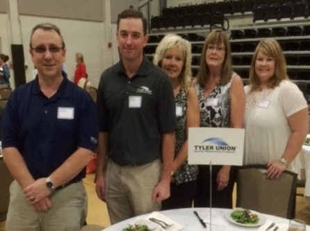 Tyler Union Recognized by Calhoun County Chamber 2015