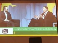 Ruffner at Economic Summit 2