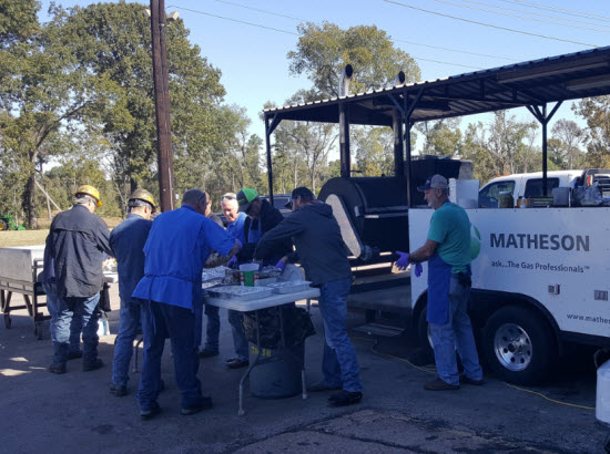 TPT 2017 Matheson Gas customer appreciation luncheon