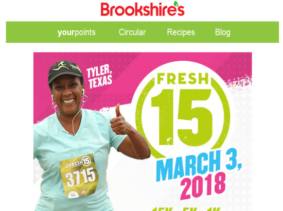 TPT 2018 Fresh 15 event