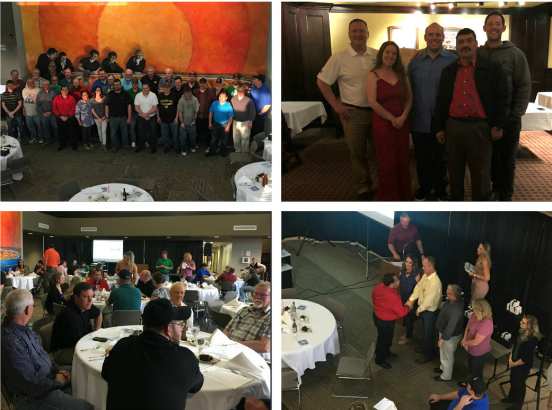 CVO 2018 Service Awards Banquet