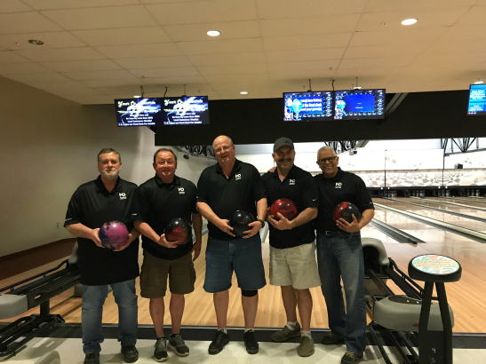 MDU 2018 Bowling team champs.